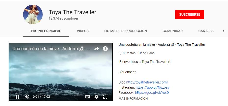Toya The Traveller