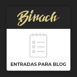 Pack de Entrada de blog